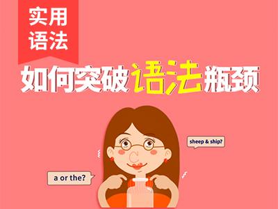 超实用语法20课 Lesson 8 五大基本句型 第一讲