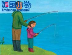 【精品绘本阅读课--初级】Fishing : 钓鱼